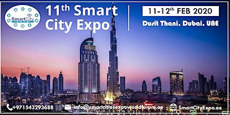 11th International Smart City Expo 2020, Dubai tickets