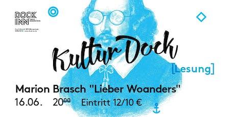 """Lesung: Marion Brasch """"Lieber Woanders""""  Tickets"""
