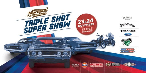 Machines & Macchiatos - Triple Shot Super Show