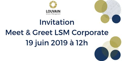 Meet & Greet LSM Corporate