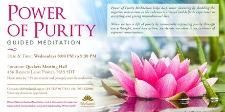 Power of Purity - Guided Meditation tickets