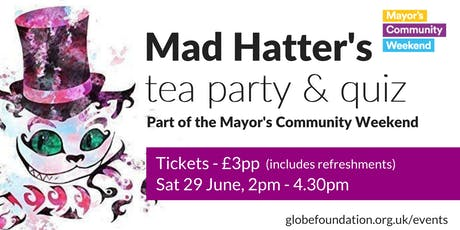 Mad Hatter's Tea Party & Quiz tickets