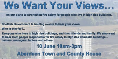 High Rise Fire Safety Consultation Engagement Event