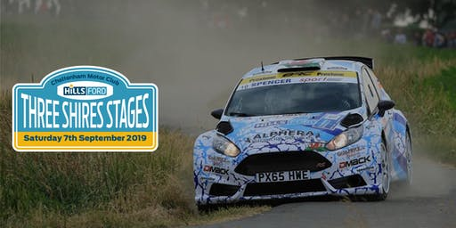 Three Shires Stages Sponsored by Hills Ford