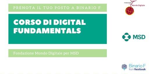 """Corso riservato MSD """"Digital Fundamentals"""" - 21 giugno"""
