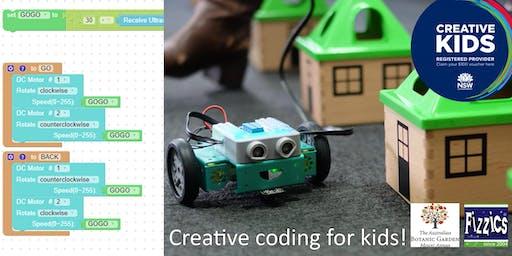Creative Coding, Mt Annan, July 16