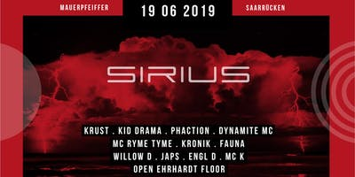 SIRIUS w/ KRUST, DYNAMITE MC, KID DRAMA, RYME TYME & PHACTION