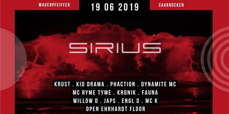 SIRIUS w/ KRUST, DYNAMITE MC, KID DRAMA, RYME TYME & PHACTION Tickets
