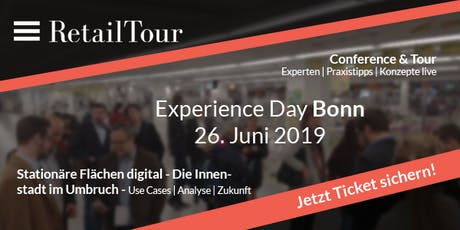 RetailTour Experience Day Bonn Tickets