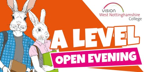 West Notts College - A Level Open Evening  tickets