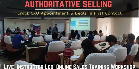 Sales Training in Bangalore tickets