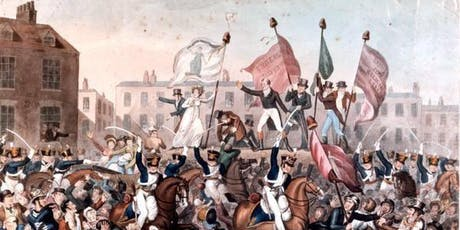 PETERLOO PLENARY PANEL at the Friends' Meeting House, 2 August 2019 tickets