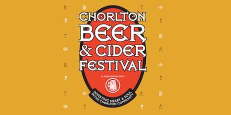 Chorlton Beer & Cider Festival  tickets