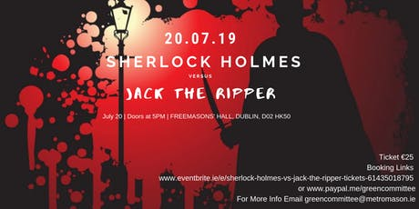 Sherlock Holmes vs Jack the Ripper tickets