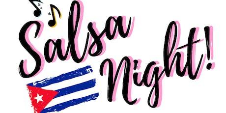 Salsa Night Happy Hour tickets