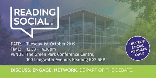 Reading Social - 1 October