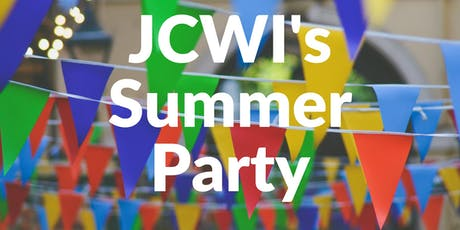 JCWI Summer Party tickets