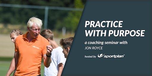 Practice with Purpose- Hockey Coaching Seminar with Jon Royce