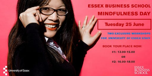 EBS Mindfulness Day with Dr Audrey Tang (for UoE staff only)