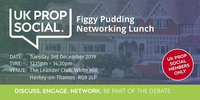 Figgy Pudding Christmas Lunch 2019