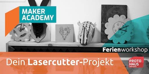 makerAcademy: Lasercutter Produktdesign
