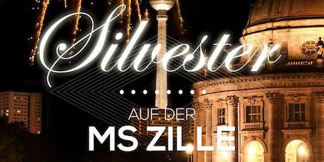 Silvester auf der MS Zille (Restaurantschiff) Tickets