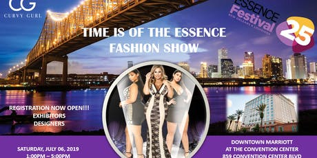 Time is of the Essence Fashion Showcase tickets