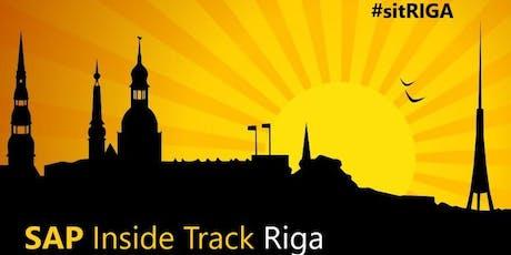 SAP Inside Track Riga 14th September 2019 tickets