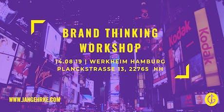 Brand Thinking Workshop - Markenbildung und Positionierung Tickets