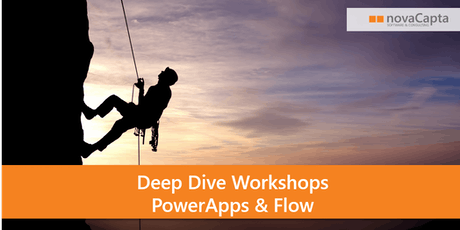 Deep Dive PowerApps und Flow Workshops Tickets