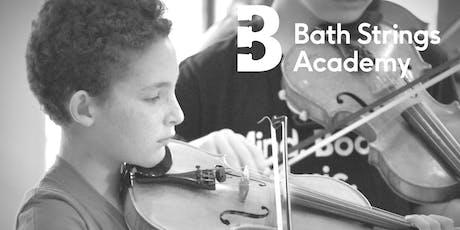 Bath Strings  Summer Academy 2019 tickets