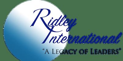 Ridley International Leadership School - August 2019