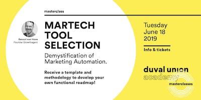 Masterclass: MarTech Tool Selection 18.06.2019