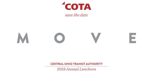 MOVE - COTA Annual Meeting & Luncheon 2019