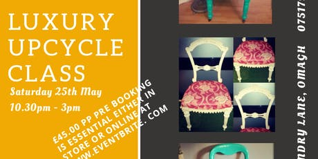 Luxury Upcycle Class  tickets