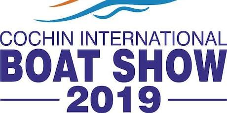 Cochin International Boat Show 2019 tickets