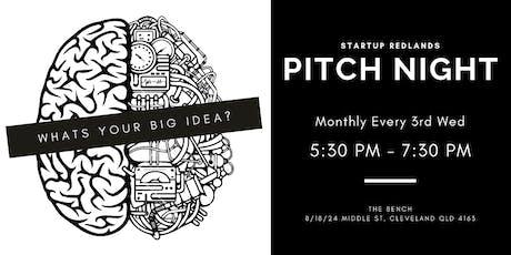 Startup Redlands - Pitch Night 17 July 2019 tickets