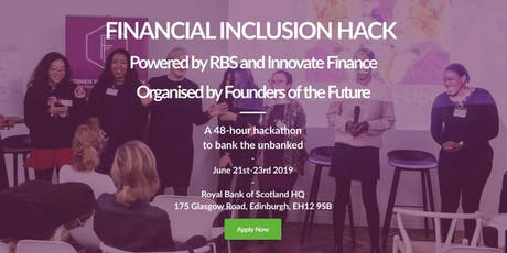 Financial Inclusion Hackathon: Banking the Unbanked tickets