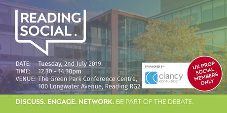 Reading Social - 2 July tickets