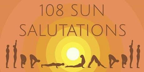 108 Sun Salutations for International Yoga Day & Summer Solstice 2019 tickets