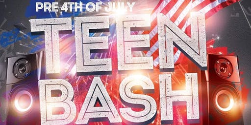 Pre 4th of July Teen Bash