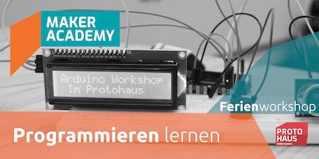makerAcademy: Programmieren lernen Tickets