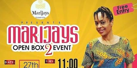 Marijays Open Box Fashion Event tickets