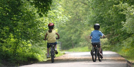 Stride and Ride, guided family bike ride