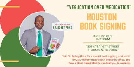 Vegucation Over Medication Book Signing tickets
