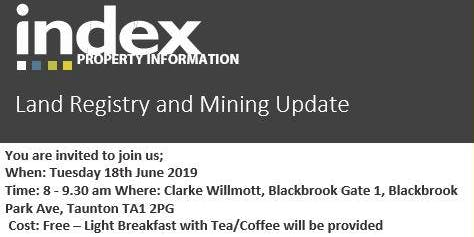 Networking Breakfast Briefing – Land Registry and Mining Update