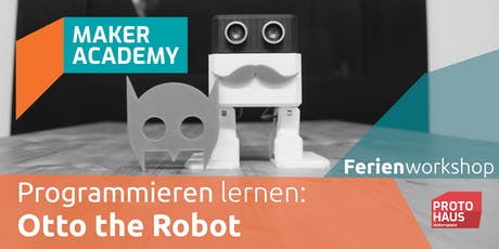 makerAcademy: Otto the Robot Tickets