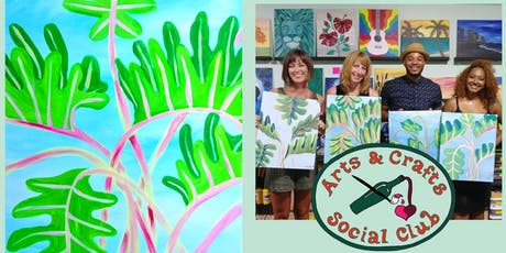 "BYOB Painting Class - ""Philodendron"" tickets"