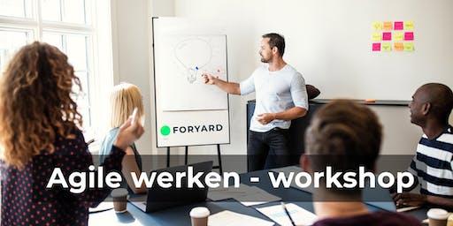 200% effectiever met Agile werken! - workshop Agile