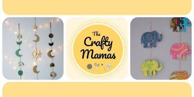 Crafty Mamas After Dark | Decorative Wall Hanging Workshop